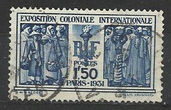Francie razítkované, r. 1931, Mi. 262