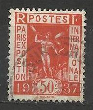Francie razítkované, r. 1936, Mi. 331