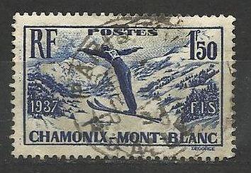 Francie razítkované, r. 1937, Mi. 340