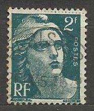 Francie razítkované, r. 1945, Mi. 685