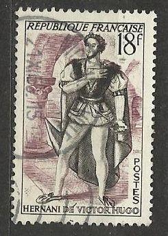Francie razítkované, r. 1953, Mi. 964