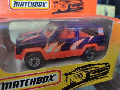 Matchbox 51 Jeep Cherokee