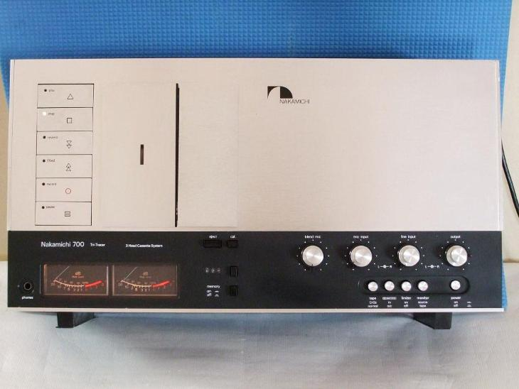 NAKAMICHI TRI-TRACER 700 TOP stereo kazetovy magnetofon - TV, audio, video