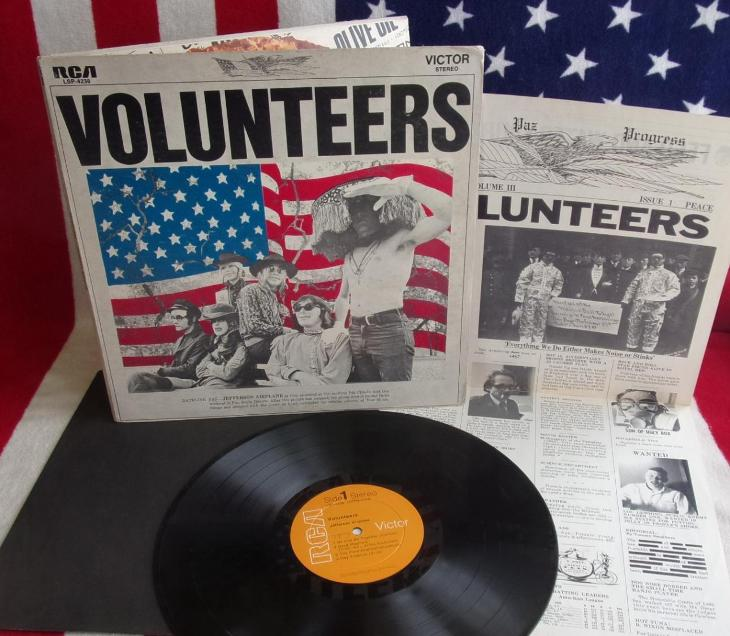 ⭐️ LP: JEFFERSON AIRPLANE - VOLUNTEERS, jako nová MINT 1press USA 1969 - Hudba