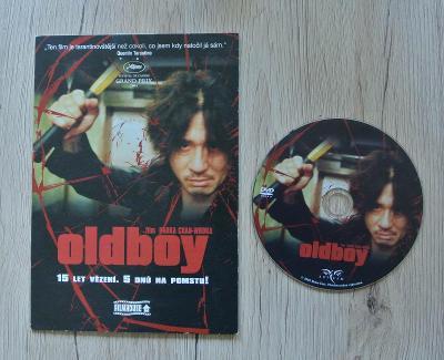 DVD s legendárním filmem OLDBOY (2003)