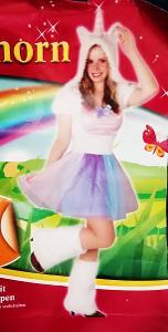N*836 JEDNOROŽEC- karnevalový kostým pro dospělé vel.S