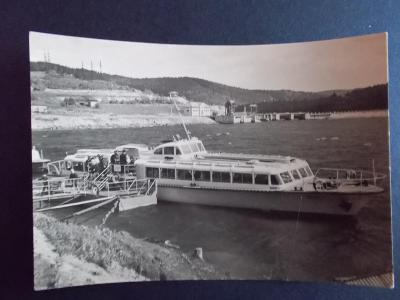 Český Krumlov Šumava Lipno přehrada výletní motorová lod
