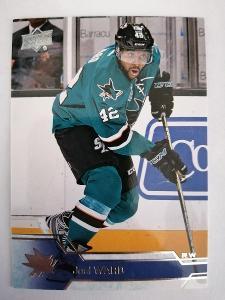 Joel Ward #151 San Jose Sharks 2016/2017 Upper Deck