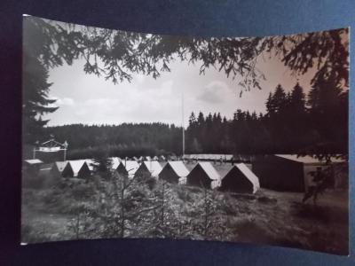 Chrudim Horní Bradlo Pionýrský tábor ČSAD Teplice