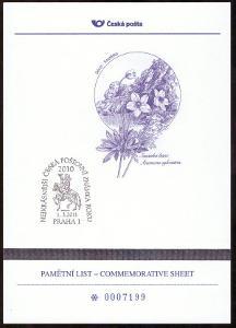 POF. AČP 17 - ANKETA ČESKÉ POŠTY O NEJKRÁSNĚJŠÍ ZNÁMKU 2010 (S1937)