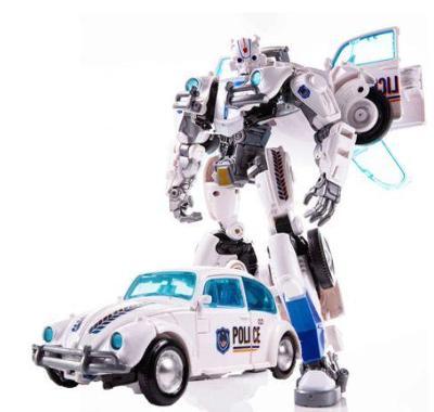 Transformers / Bumblebee - robot / auto Volkswagen Brouk 21 cm Police