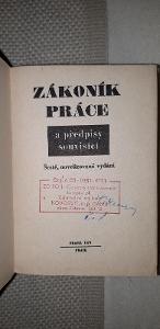 Zákoník práce a předpisy související - uspořádal Dr. František Bernard