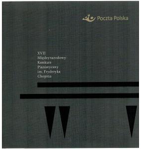 Polsko 2015 Prezentační balíček Známky + FDC hudba Chopin klavírní sou