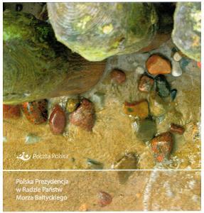 Polsko 2015 Prezentační balíček Známky + FDC ekologie Baltské moře