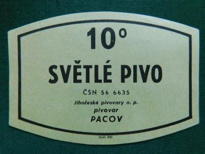 PE - Pivovar - Pacov