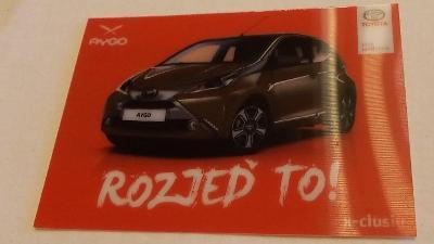 Toyota AYGO – měnící se reklamní karta  #