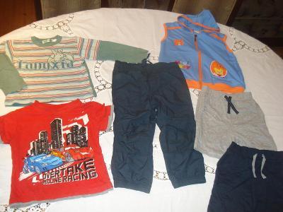 Dětské oblečení chlapecké vel. 98 (tj. 2-3 roky) sada