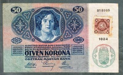 50 korun 1914 KOLEK VZÁCNÁ !!!