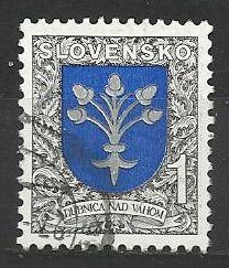 Slovensko, r. 1993, Mi.177, razítkované