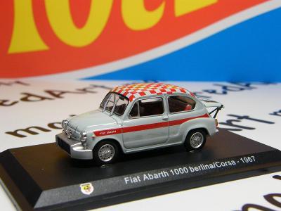 I - ABARTH  1000 Berlina/Corsa 1967 - HACHETTE 1:43