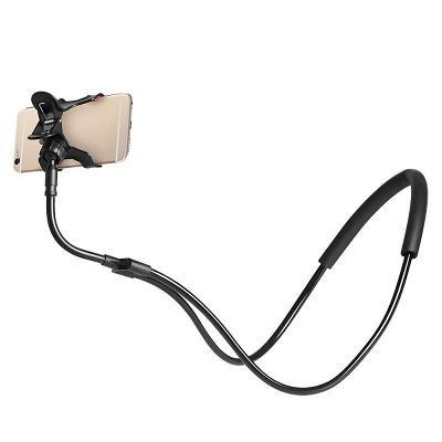 držák mobilu na krk, lazy holder - pohodlné sledování bez držení rukou