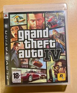 Hra na PS3 Grand Theft Auto 4