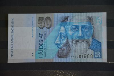 bankovka 50 Slovenských korún  1993 série C