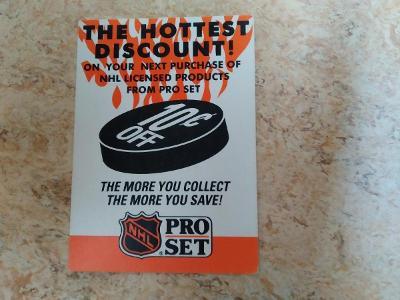 Slevová kartička NHL 1992