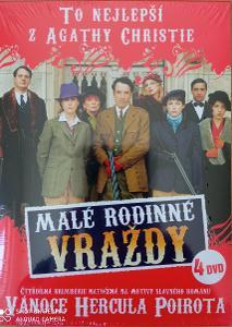 Malé rodinné vraždy Agatha Christie    4 DVD