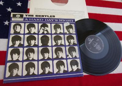 🔴 LP: THE BEATLES - A HARD DAY'S NIGHT, jako nové MINT, Holland press