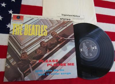 🔴 LP: THE BEATLES - PLEASE PLEASE ME, jako nové, orig. ENGLAND press.