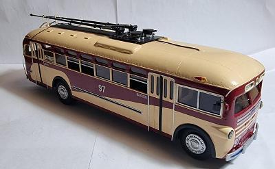 Model trolejbusu MTB-82M 1947