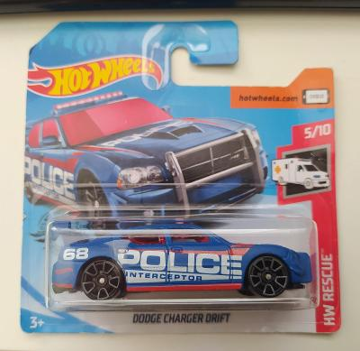 Dodge Charger Drift POLICE - Hot Wheels