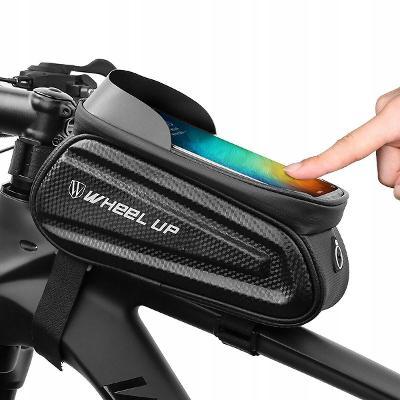 Vodotěsná taška na kolo, peněženka, držák telefonu pro telefon hol7