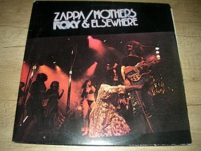 Zappa / Mothers – Roxy & Elsewhere (1974) 2xLP ,1.Press ,TOP STAV!!!