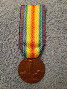 Medaile vítězství Itálie, 1914 - 1918, Legie, Johnson