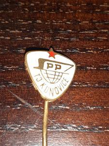 Odznak  SPP TJ Kunovice, okres Uherské Hradiště