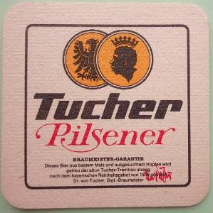 Pivní tácek nový - Tucher Pilsener