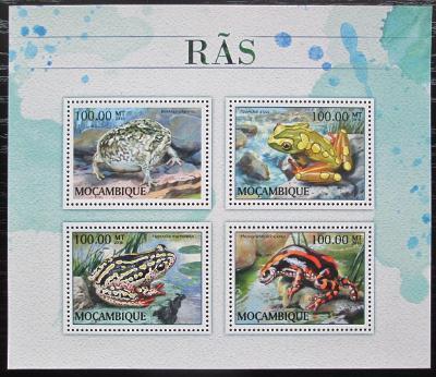 Mosambik 2016 Žáby Mi# 8889-92 Kat 22€ 2418