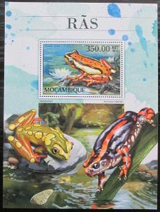 Mosambik 2016 Žáby Mi# Block 1218 Kat 20€ 2418