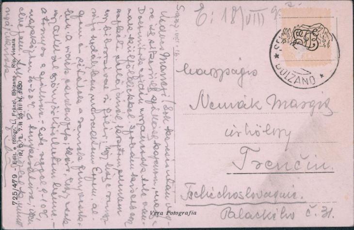 27A1944 Dolomiti Val Gardena - Selva - Pohlednice