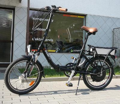 "Elektrokolo Leader Fox ""Elektro-moped"""