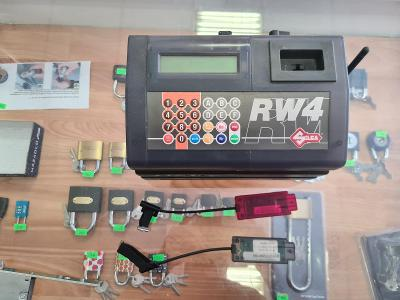 čipovací zařízení silca RW4 (ID:48 - ID:46) atd.