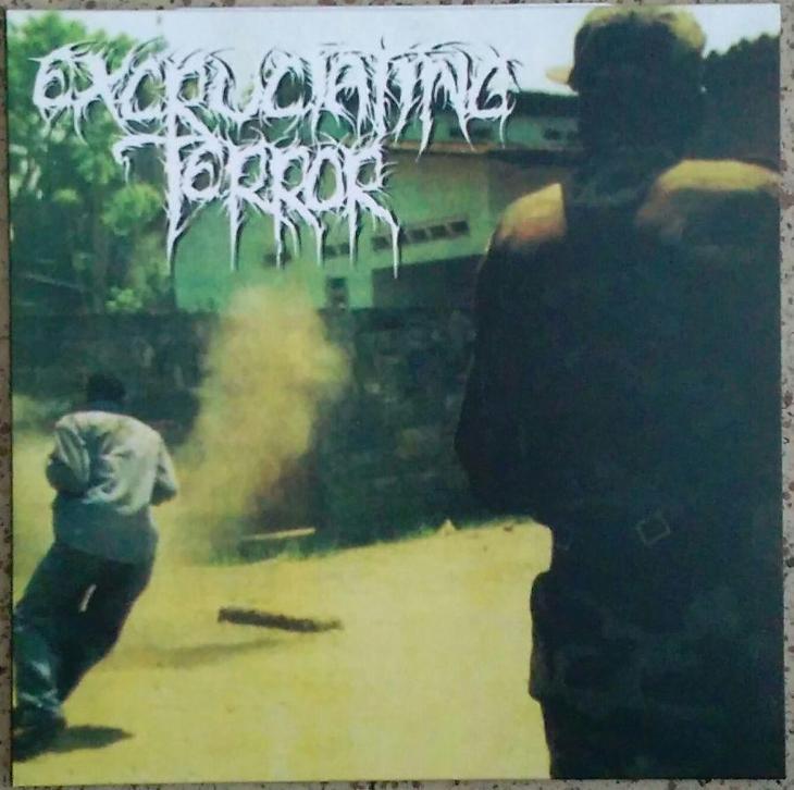 EXCRUCIATING TERROR - Divided we Fall - 12 LP CERNY vinyl - Hudba