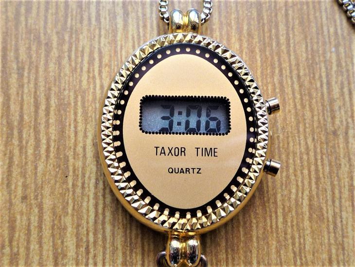 Hodinky na řetízku, TAXOR TIME quartz #455-49 - Starožitnosti
