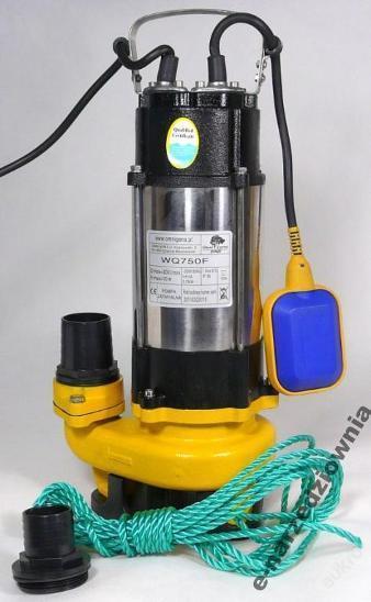 Ponorné čerpadlo voda do septiku wq 750 wq750 F