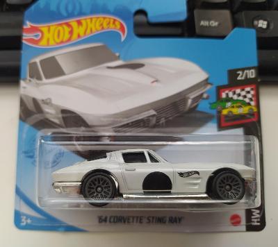 Chevrolet Corvette Sting Ray '64 - Hot Wheels