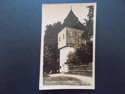 Náchod Nové město nad Metují Slavonov zvonice kostela