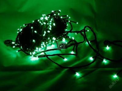 Vánoční osvětlení 200 LED řetěz 18,4 M ZELENE