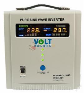 Měnič napětí UPS 1500W SINUS PRO 24V 230V